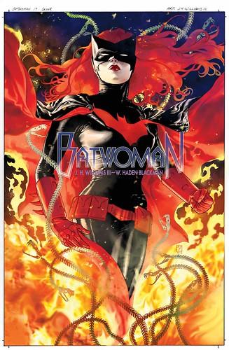 Batwoman 17 cover-logo
