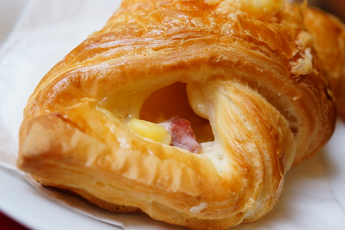 vivid cheese croissant