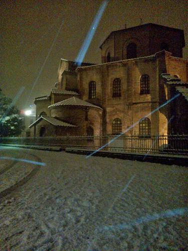 San Vitale snow!! by meteomike