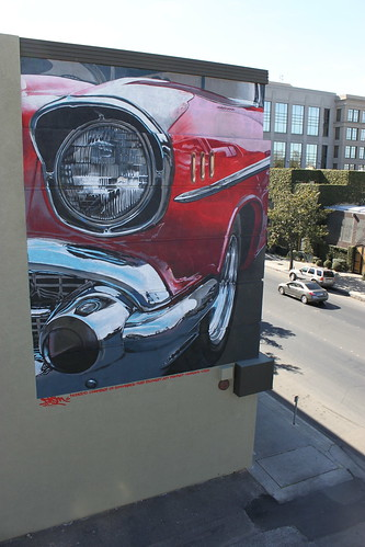 Chevy BelAir Mural by fasmgg