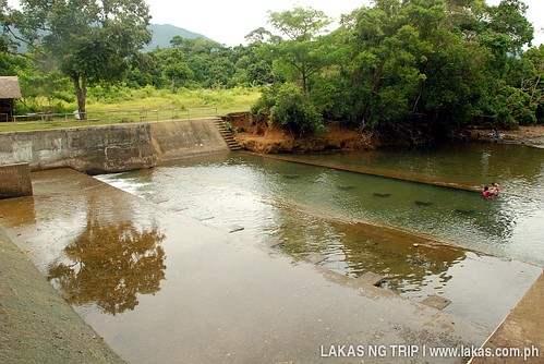 Dam near the Sanctuary Garden Resort in Magdiwang, Sibuyan Island, Romblon