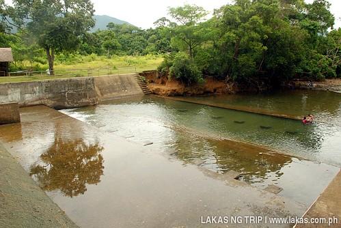 Dam near the Sanctuary Garden Resort in Magdiwang, Sibuyan Island, Romblon