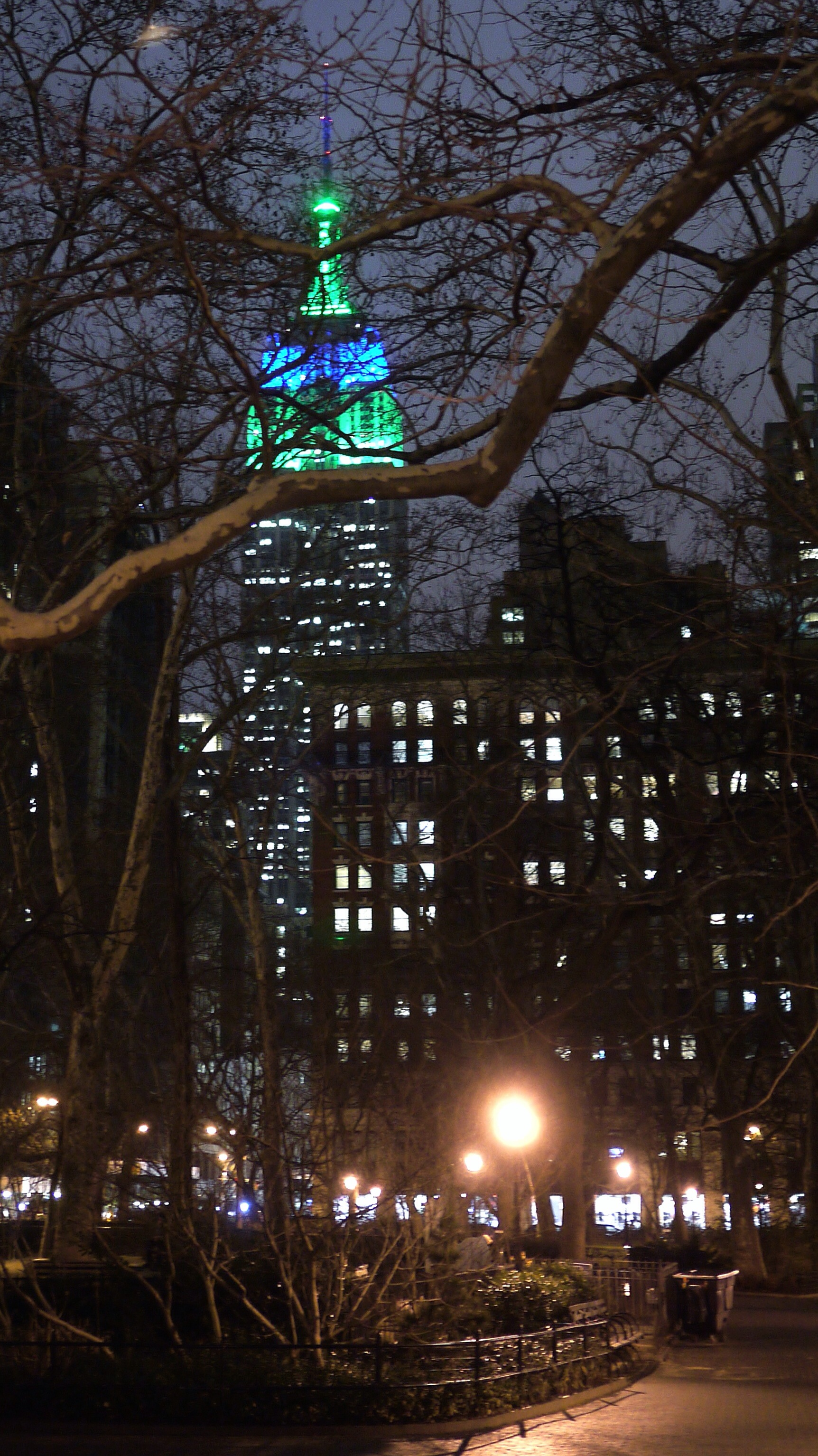 ESB South looking North from Madison Square Park