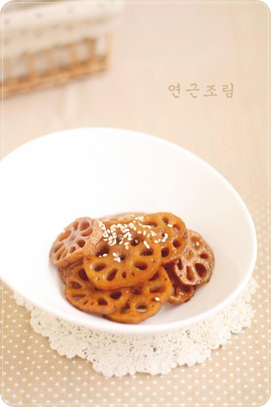 Yeongeun Jorim 연근조림