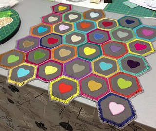 Quilting and Crochet - Anti-Macassar