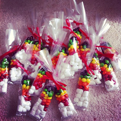 Rainbow treat bags by Midwest Family Life