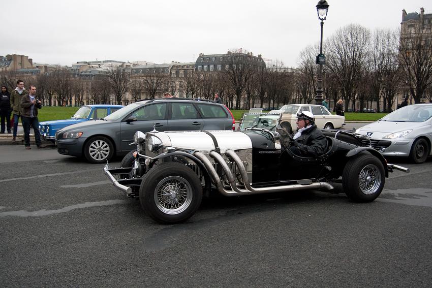 Mercedes-Benz SS replica