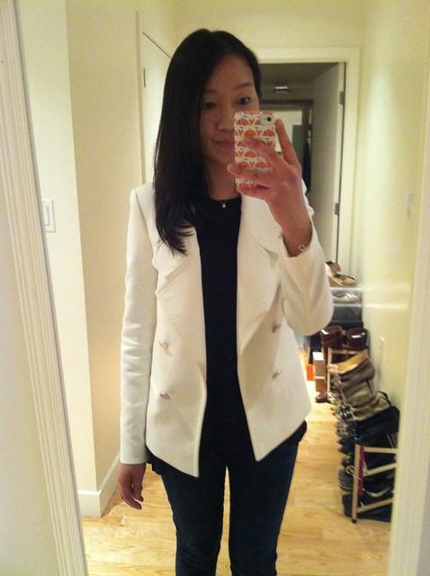 Zara棉质西装外套(Ref.2382 / 761)