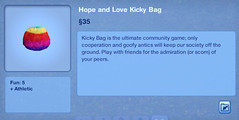 Hope and Love Kicky Bag