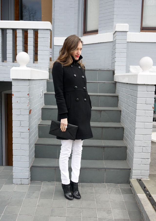 my fair vanity black trench white jeans style blog neutral for spring 2013 6