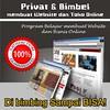 privat website dan bisnis online