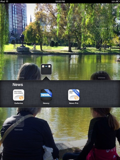 News Apps (March 2013)