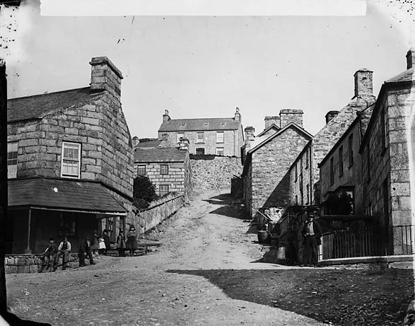 Post office and Pendre, Harlech
