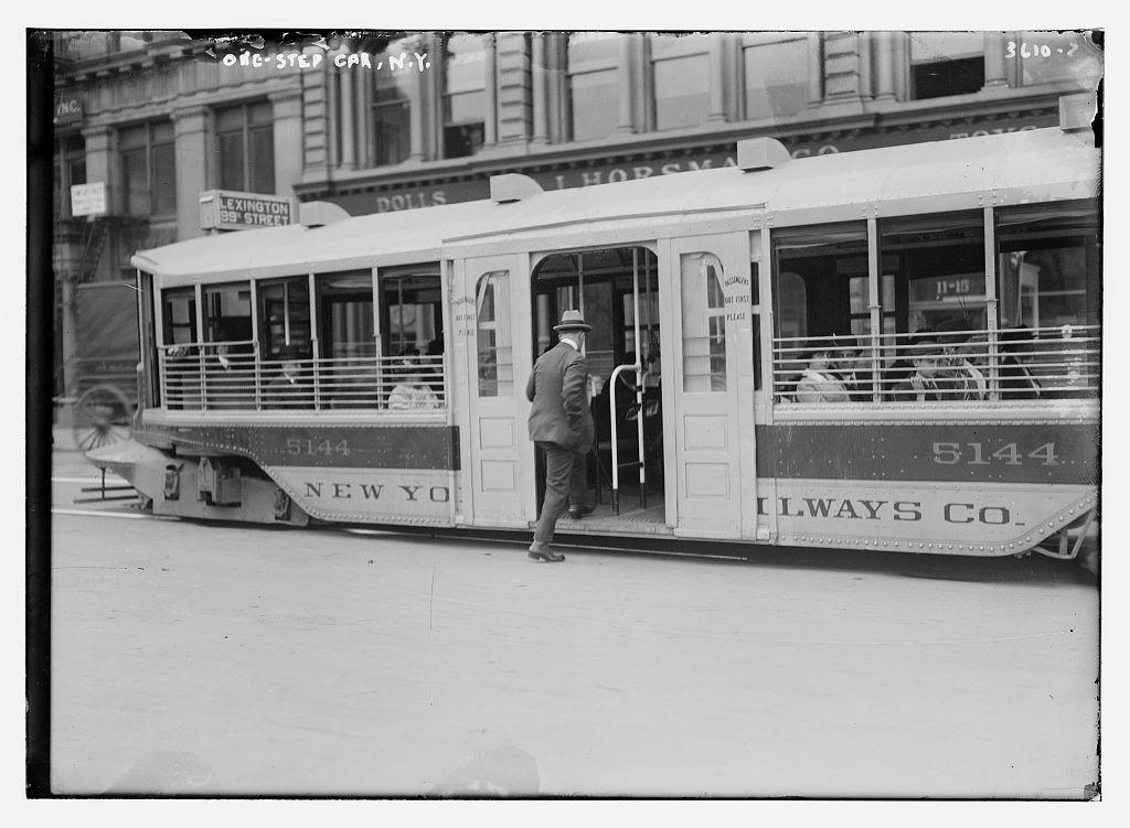 One-step car, N.Y.  (LOC)