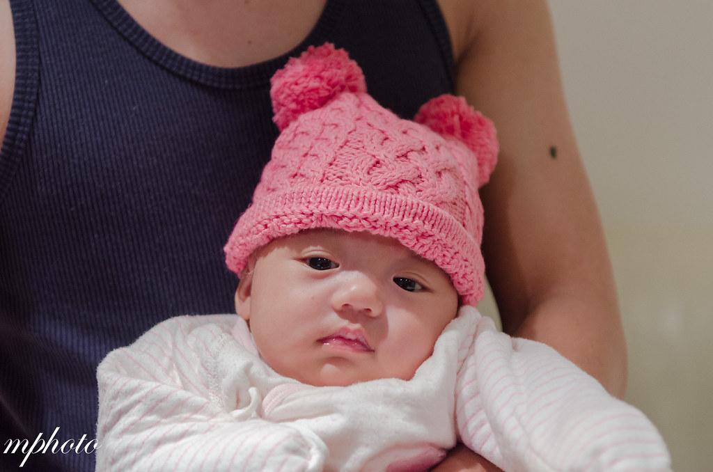 FiFi 第一頂帽子 兒童寫真