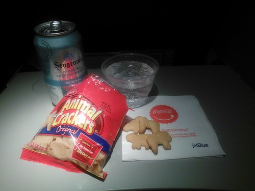 Animal Crackers on JetBlue