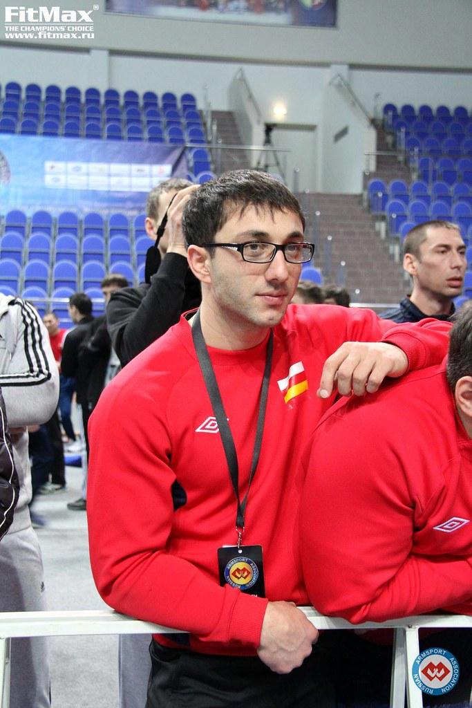 Khadzimurat Zoloev with glasses