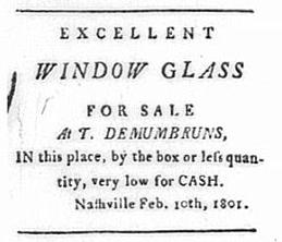 Timothy Demonbreun Wed Feb 11 1801 Tennessee Gazette