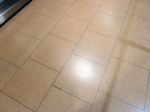 Hamburg airport floor
