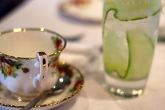 Tea and cocktail