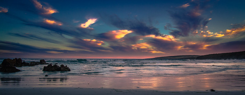 Sunset at Lone Pine South Australia [Explored]