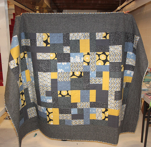 Lisa's Madrona Road Challenge quilt