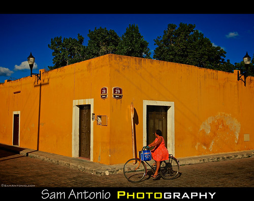 Just Around the Yellow Corner... by Sam Antonio Photography