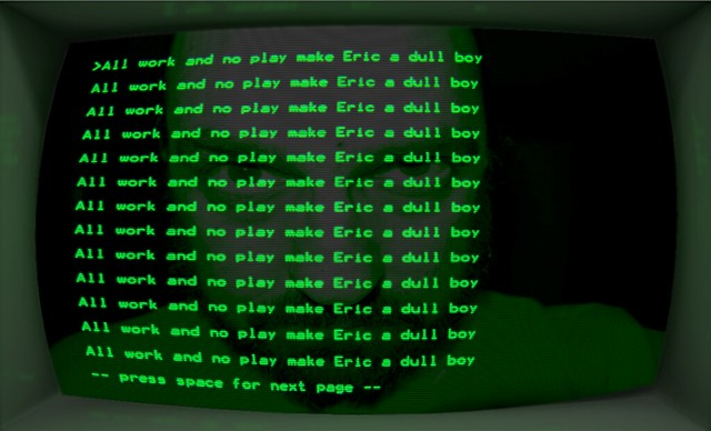 Eric Howton Dull Boy March 2013