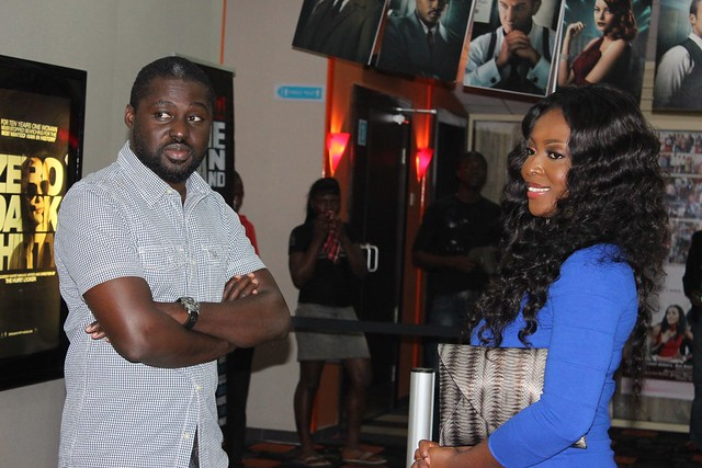 Yvonne Okoro and Ken Attoh