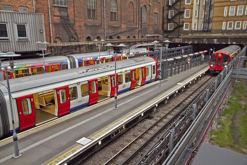Metropolitan Line at Baker Street
