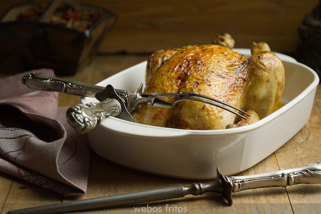 Temperatura para cocinar pollo al horno for Cocinar para 9