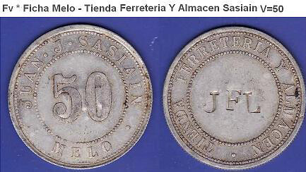 tokens of Sasiain