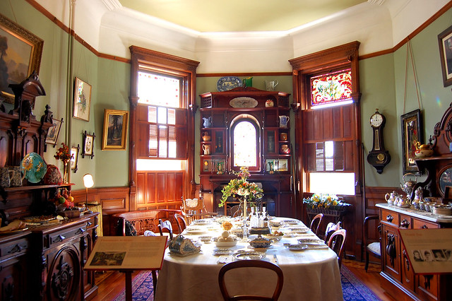 Craigdarroch Castle breakfast room