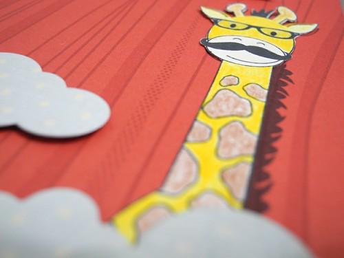 Hipster Giraffe (detail)
