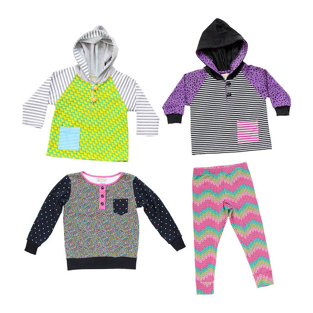 bright new kids gear