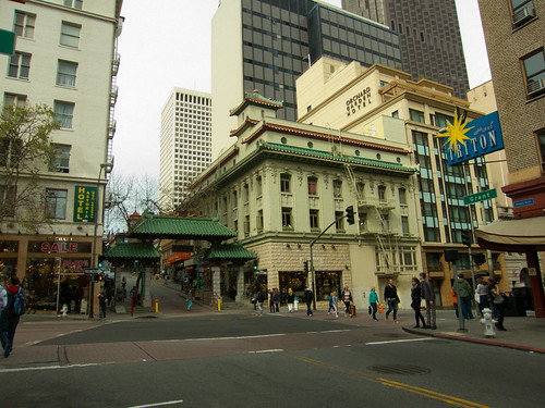 San Francisco's Chinatown Entrance