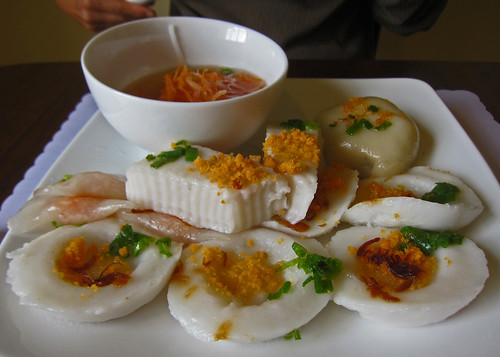 Banh Beo, Banh Duc, Banh Bot Loc, and Banh It - Viet Bakery & Pho