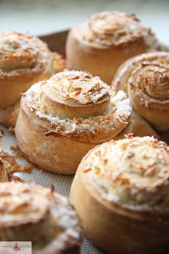 Coconut Cinnamon Rolls
