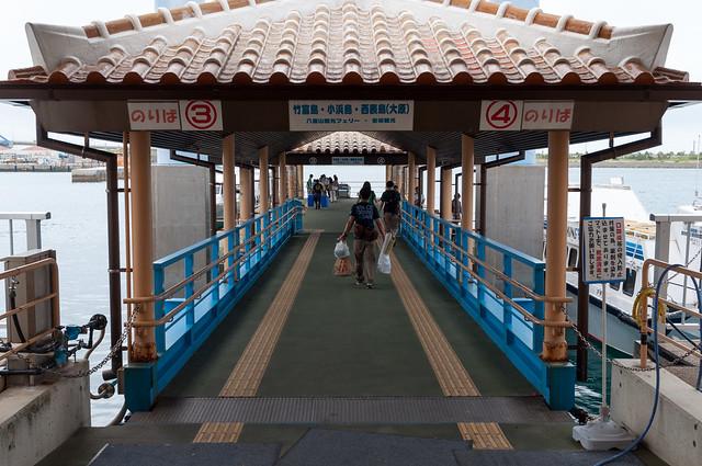 石垣港離島ターミナル桟橋