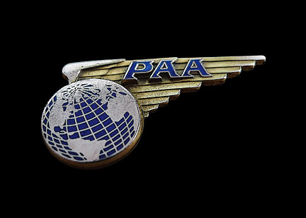 Pan Am Cabin Crew Badge c1960s