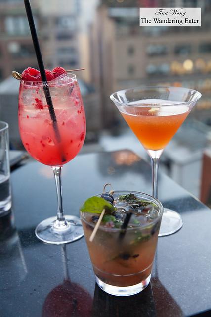 Our cocktails - Summer Time Fling, Archer's Elixir, You Look Smashing