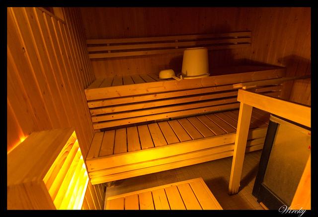 Laponia iglú cristal mina amatistas sauna finlandesa - Sauna de la cabaña