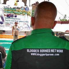 Bloggerborneo.com at opening ceremony #Mempawah #Mangrove #Park. #savemangrove #indonesia