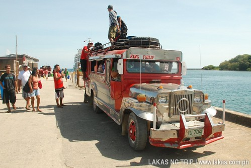 Jeep to Cajidiocan in Ambulong Port, Magdiwang, Sibuyan Island