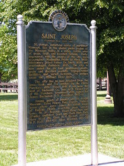 Saint Joseph Historical Marker [Side 2]