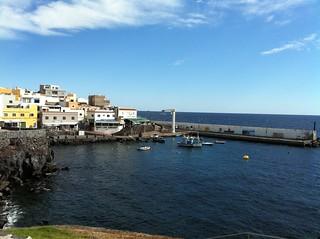 Los Abrigos Harbour Tenerife