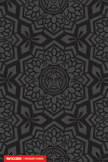 Shepard Fairey Yen Pattern Black