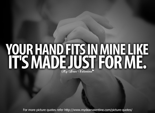 Quotes About Holding Hands