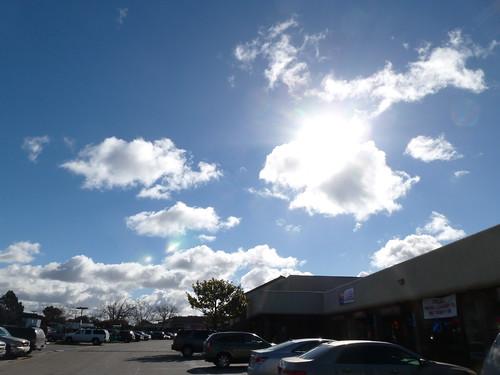 Clouds Thursday