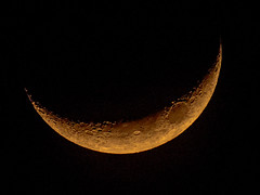 [Free Images] Nature, Night Sky, Moon ID:201301201600